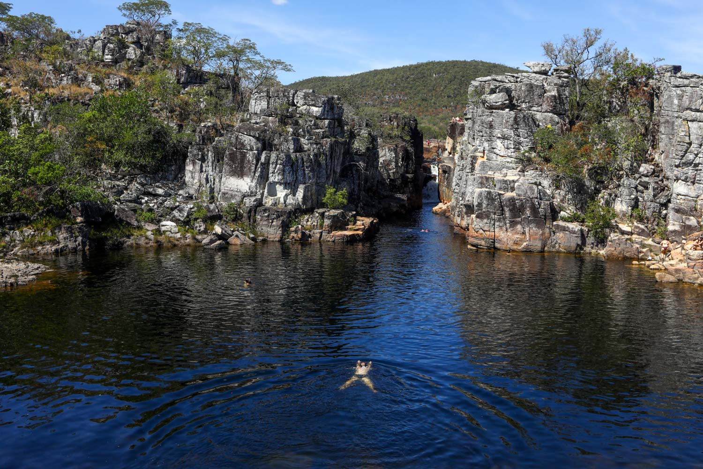 Cânion Parque Nacional da Chapada dos Veadeiros