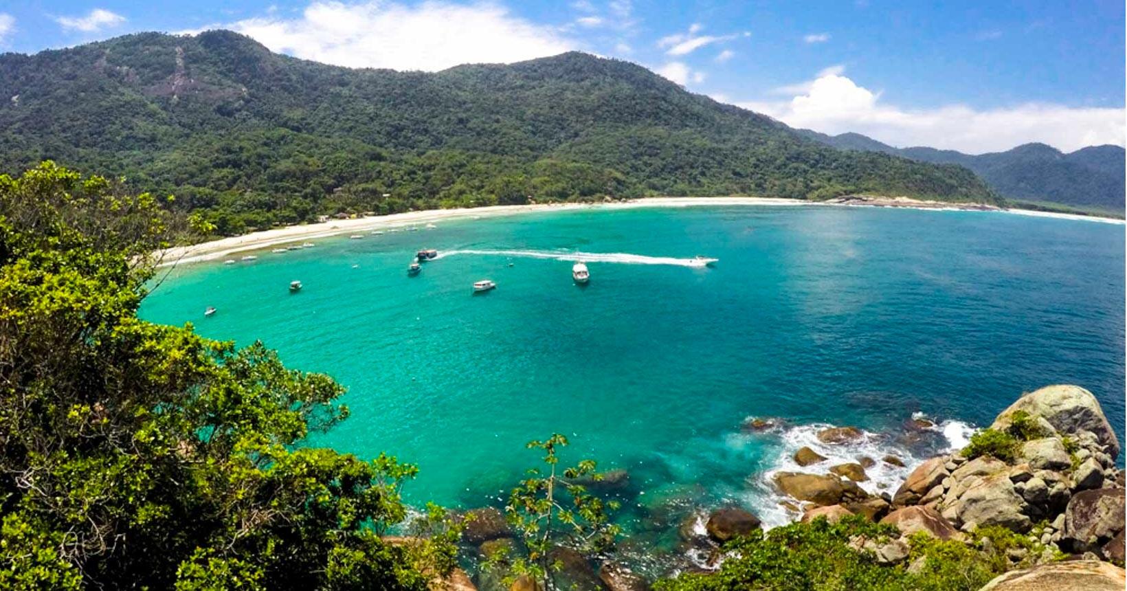 Ilha Grande, em Angra dos Reis (RJ)