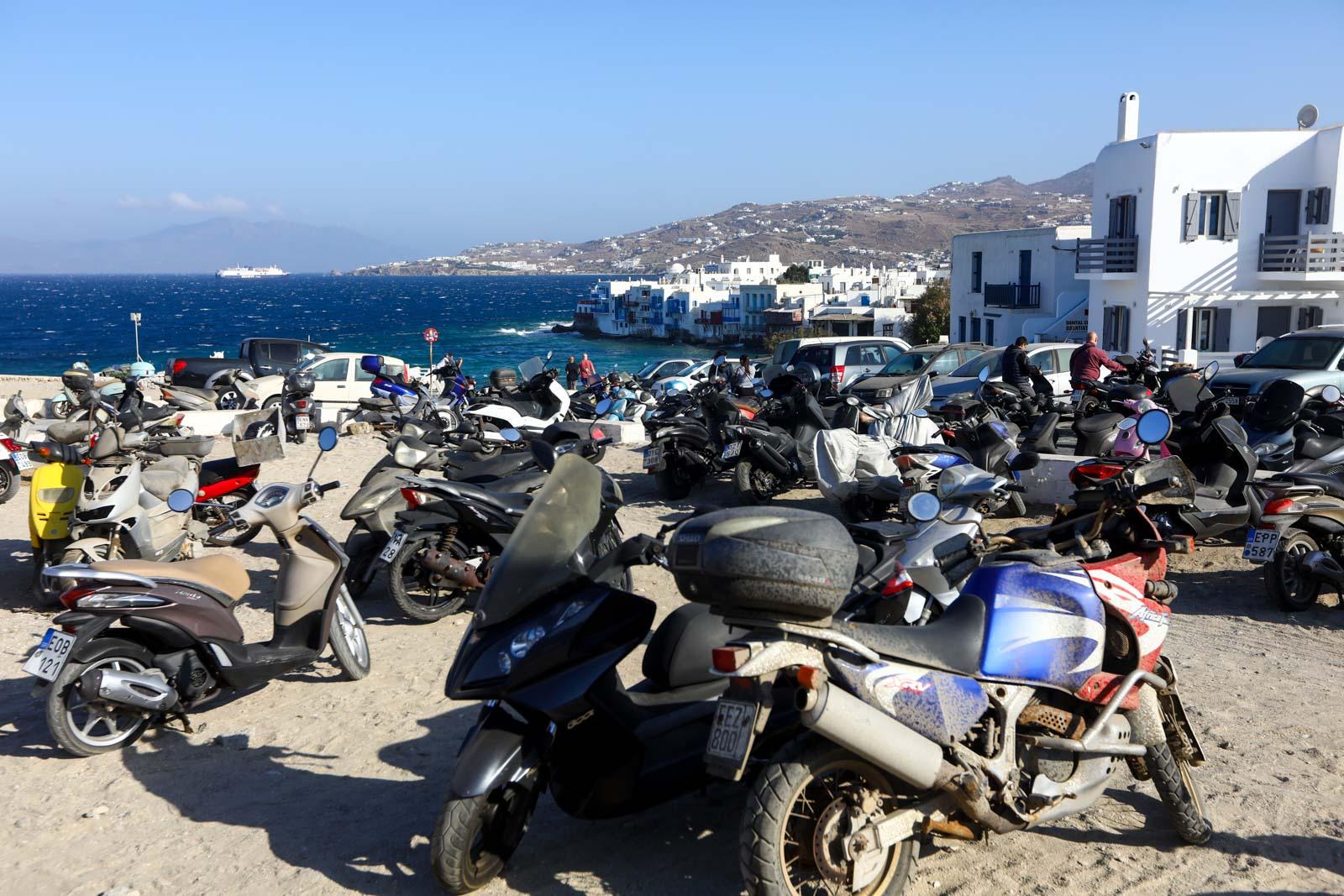 Mykonos transporte
