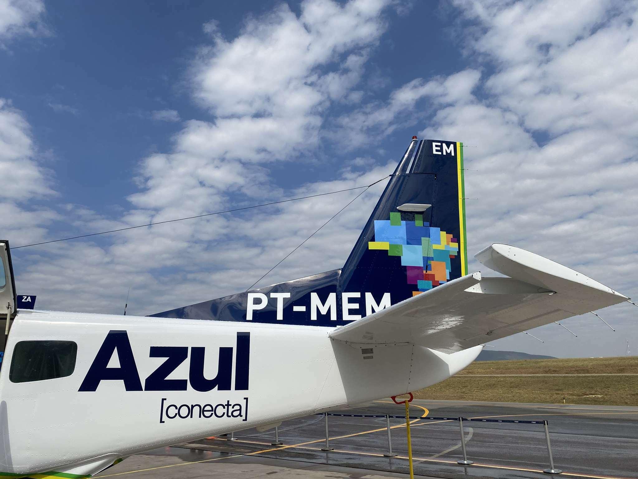 aviação regional Azul Conecta