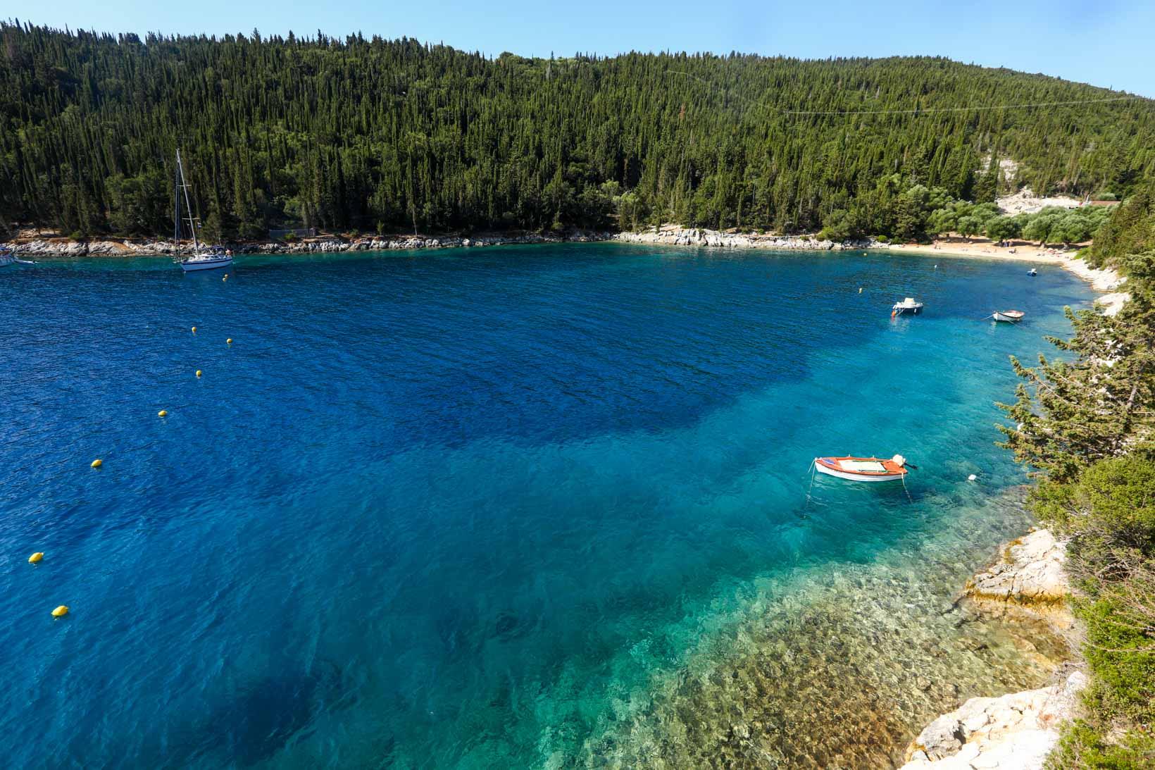 Melhores praias de Kefalonia