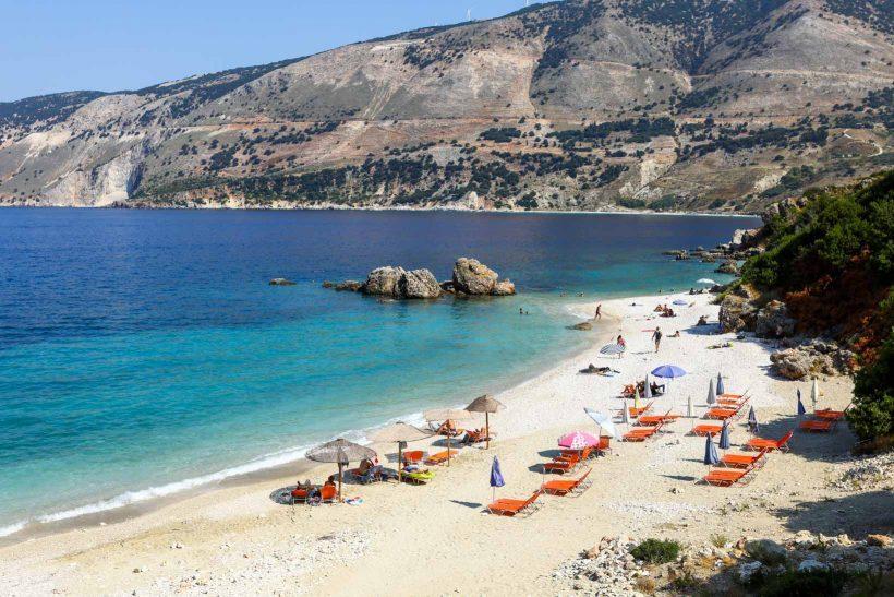 Vouti Beach Praias de Kefalonia
