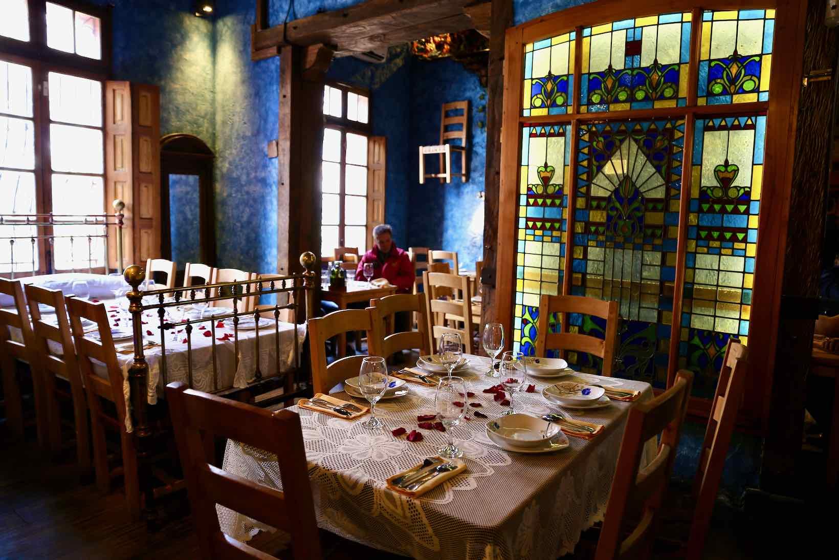 restaurante santiago como agua para chocolate