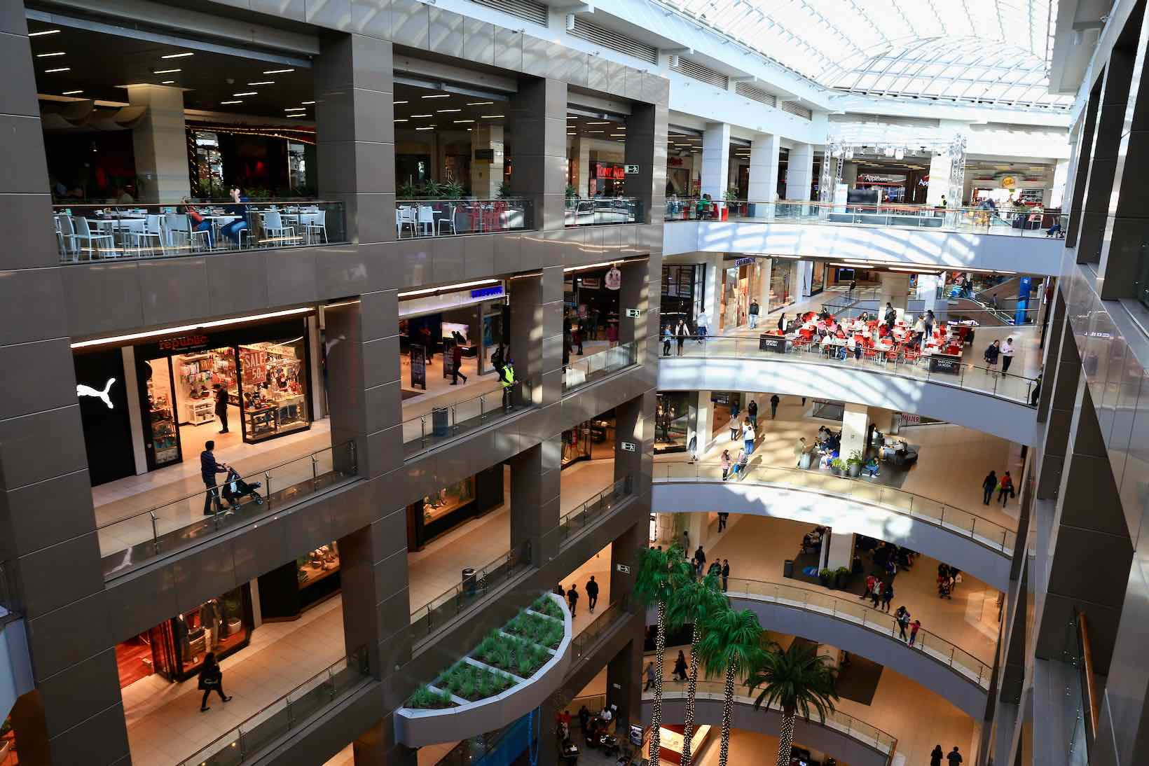 compras santiago costanera mall