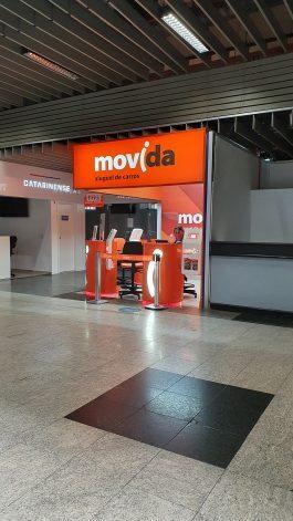 aeroporto curitiba movida locadora de veículos