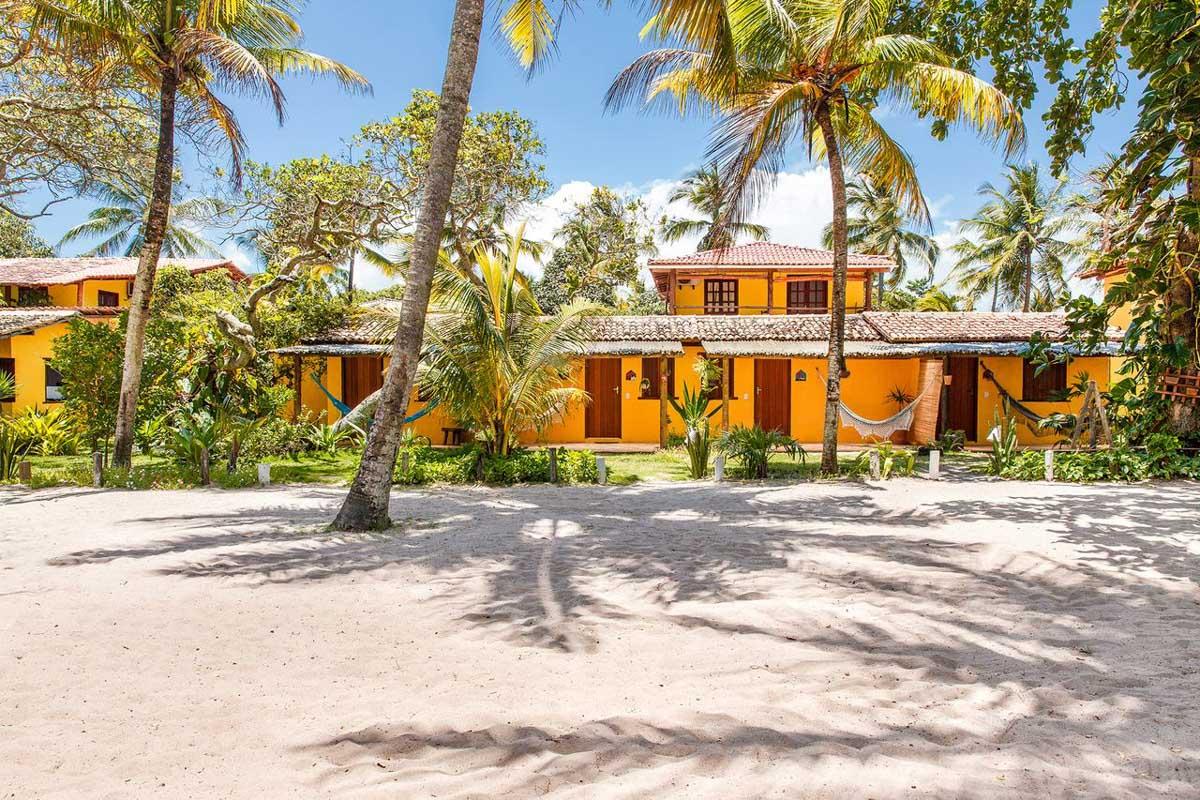hotéis e pousadas em Caraíva