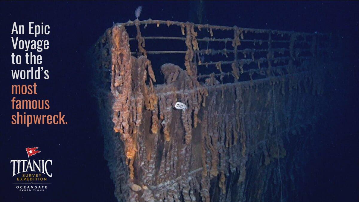 Tour submarino del Titanic