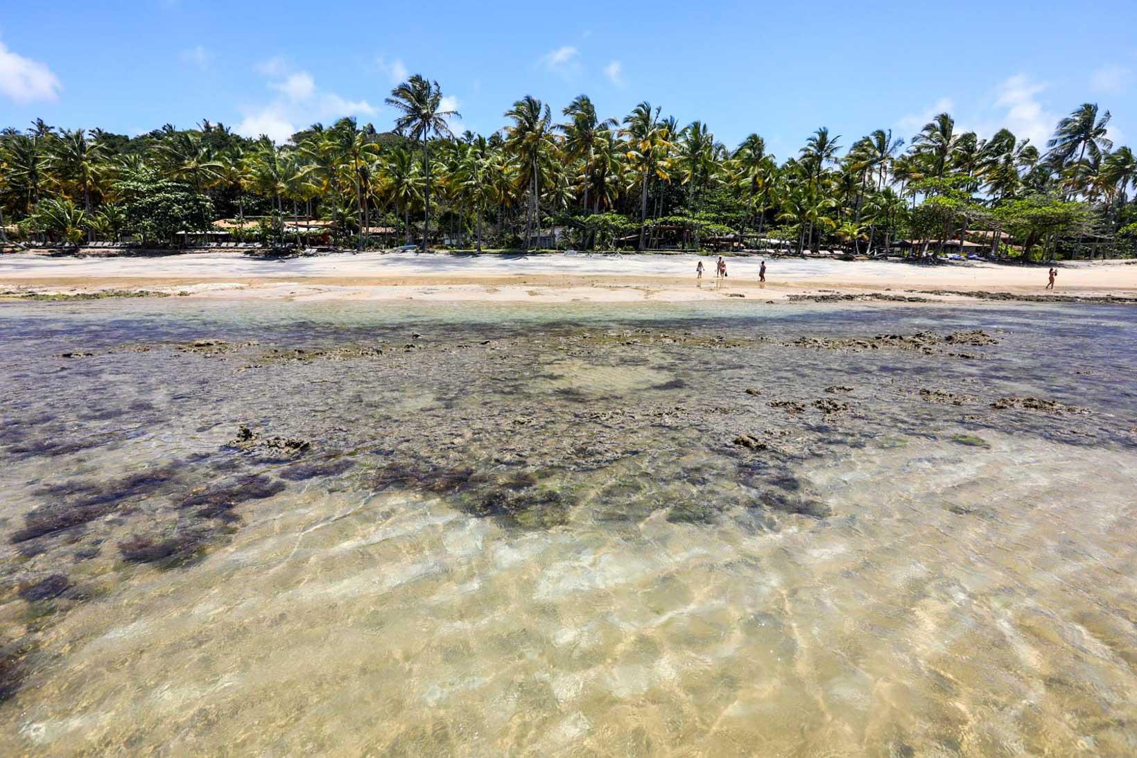 Praia do Espelho piscinas naturais