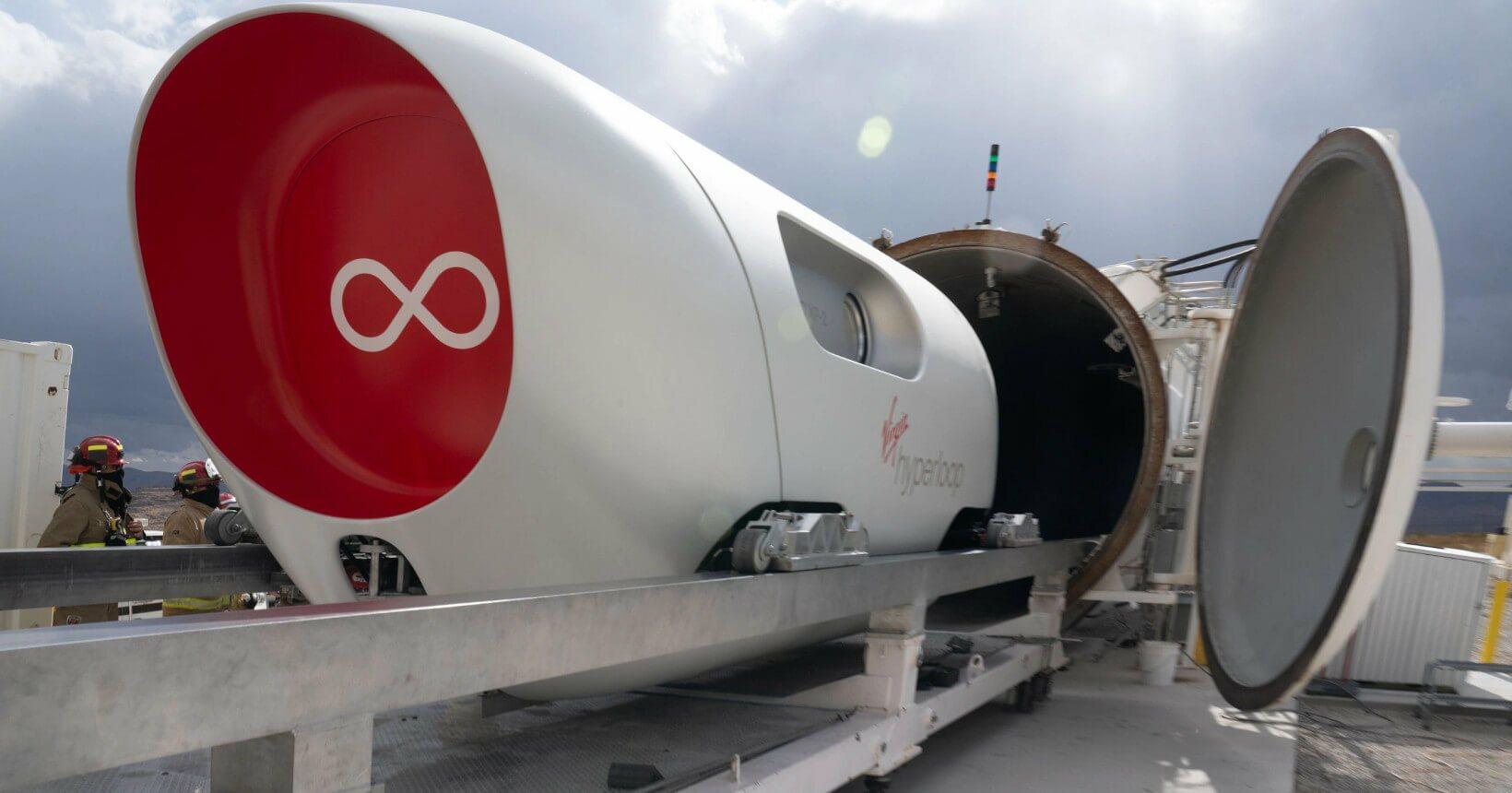 Sistema de transporte a vácuo do Hyperloop batizado de Pegasus usa levitação magnética