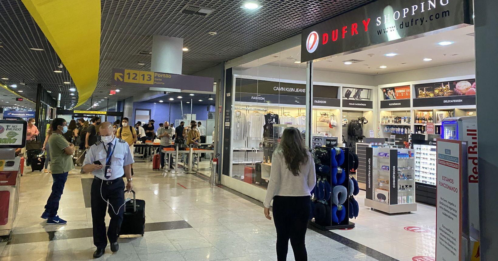 Duty Free no Aeroporto do Recife