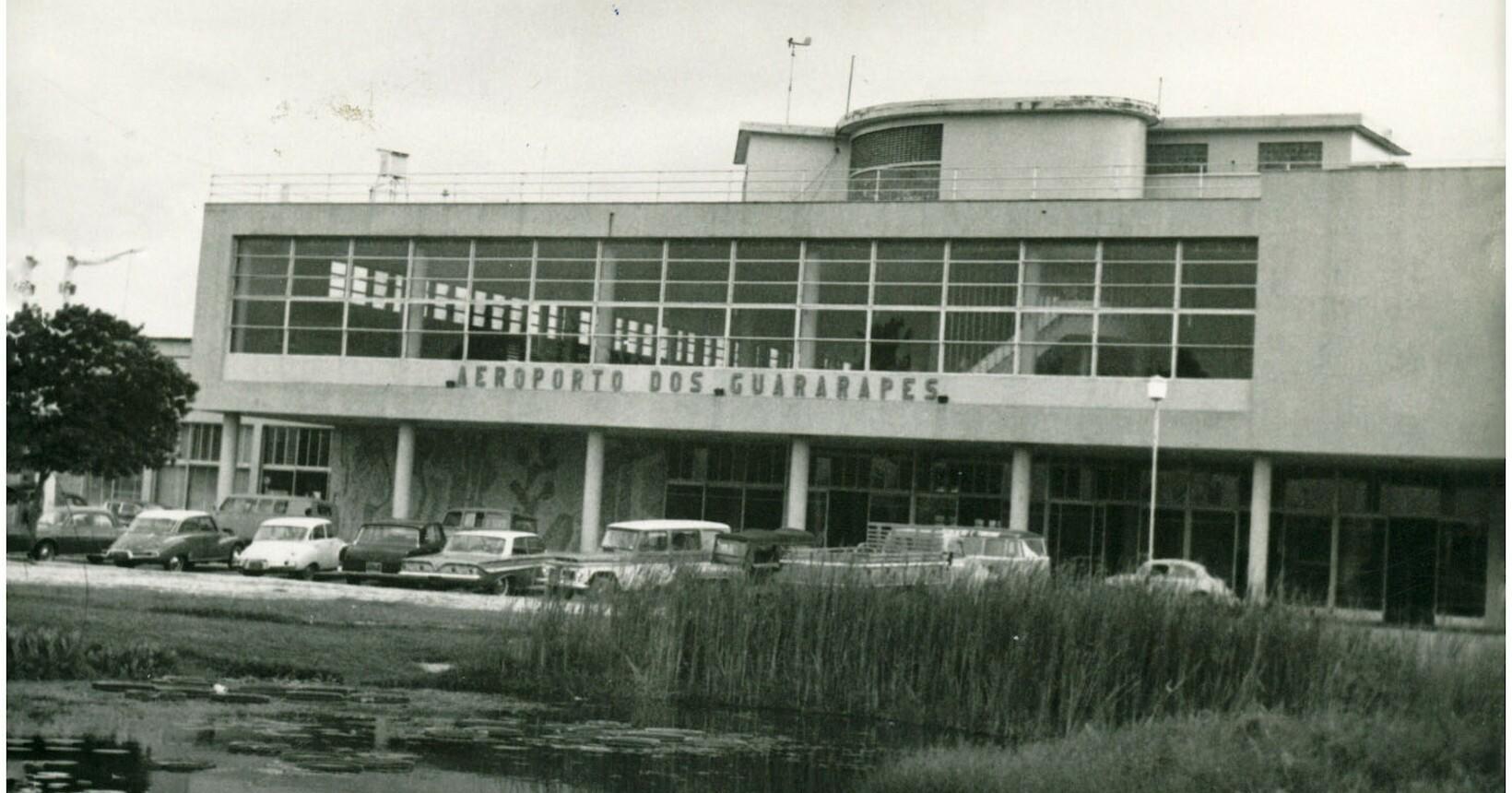 Foto do antigo terminal, sem data definida