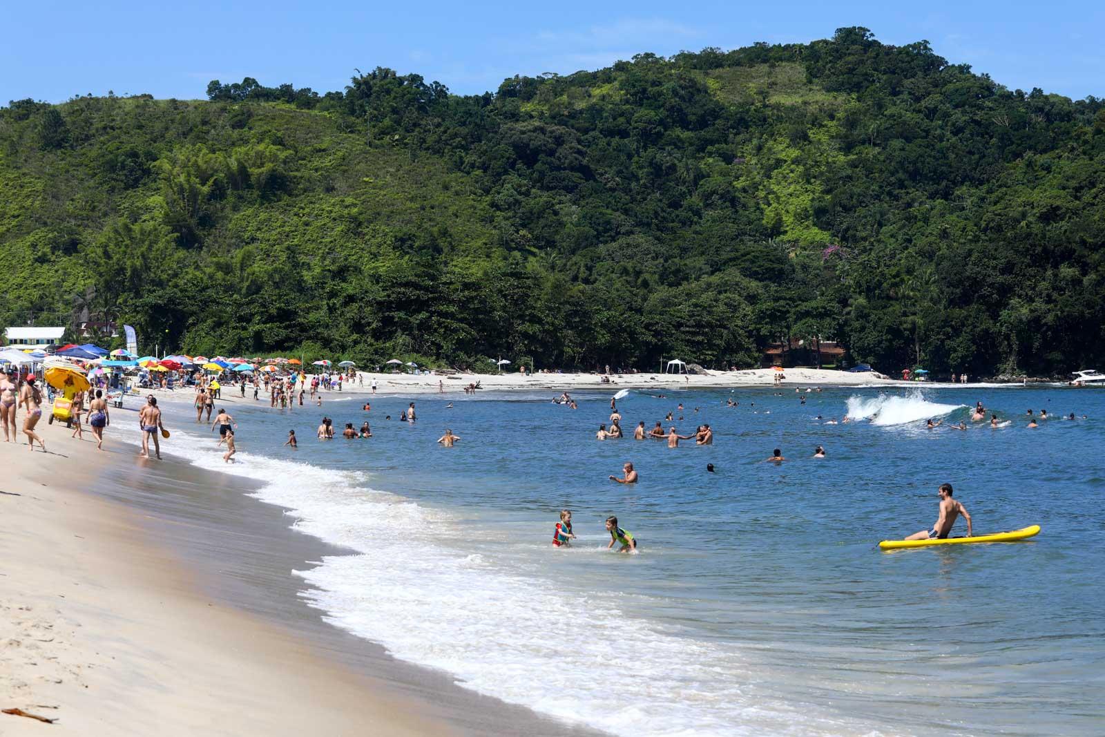 Praia boa para criança