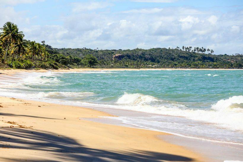 Praia de Itapororoca Litoral Sul Bahia