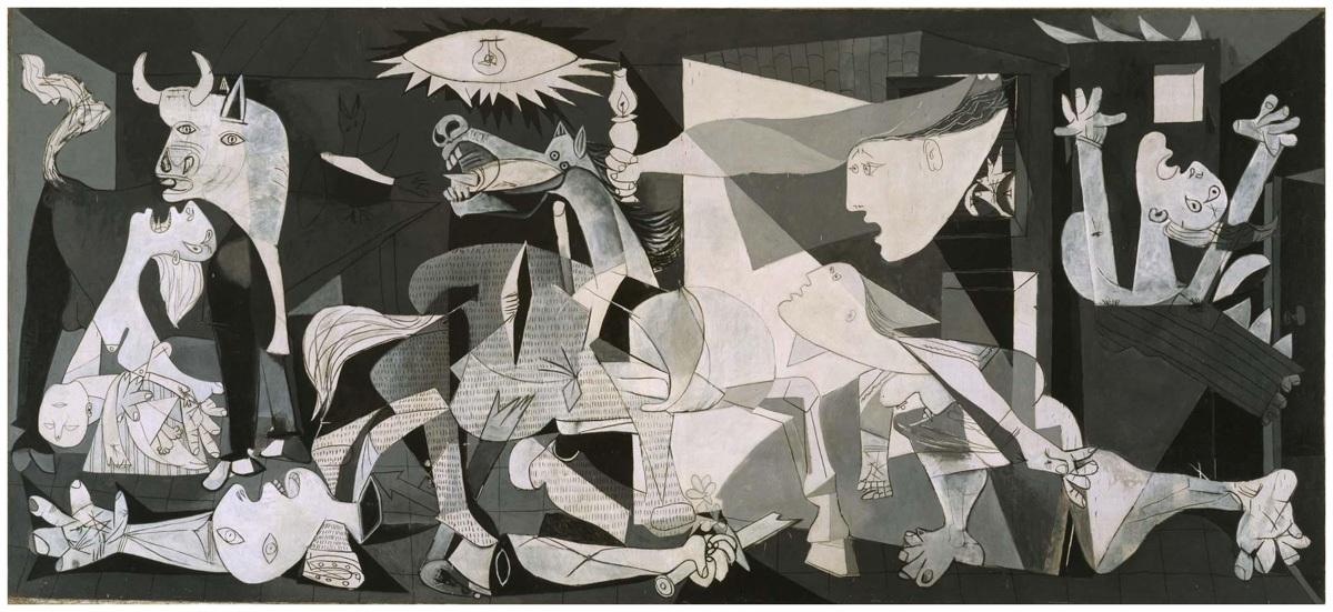 Obra de arte Guernica, de Pablo Picasso