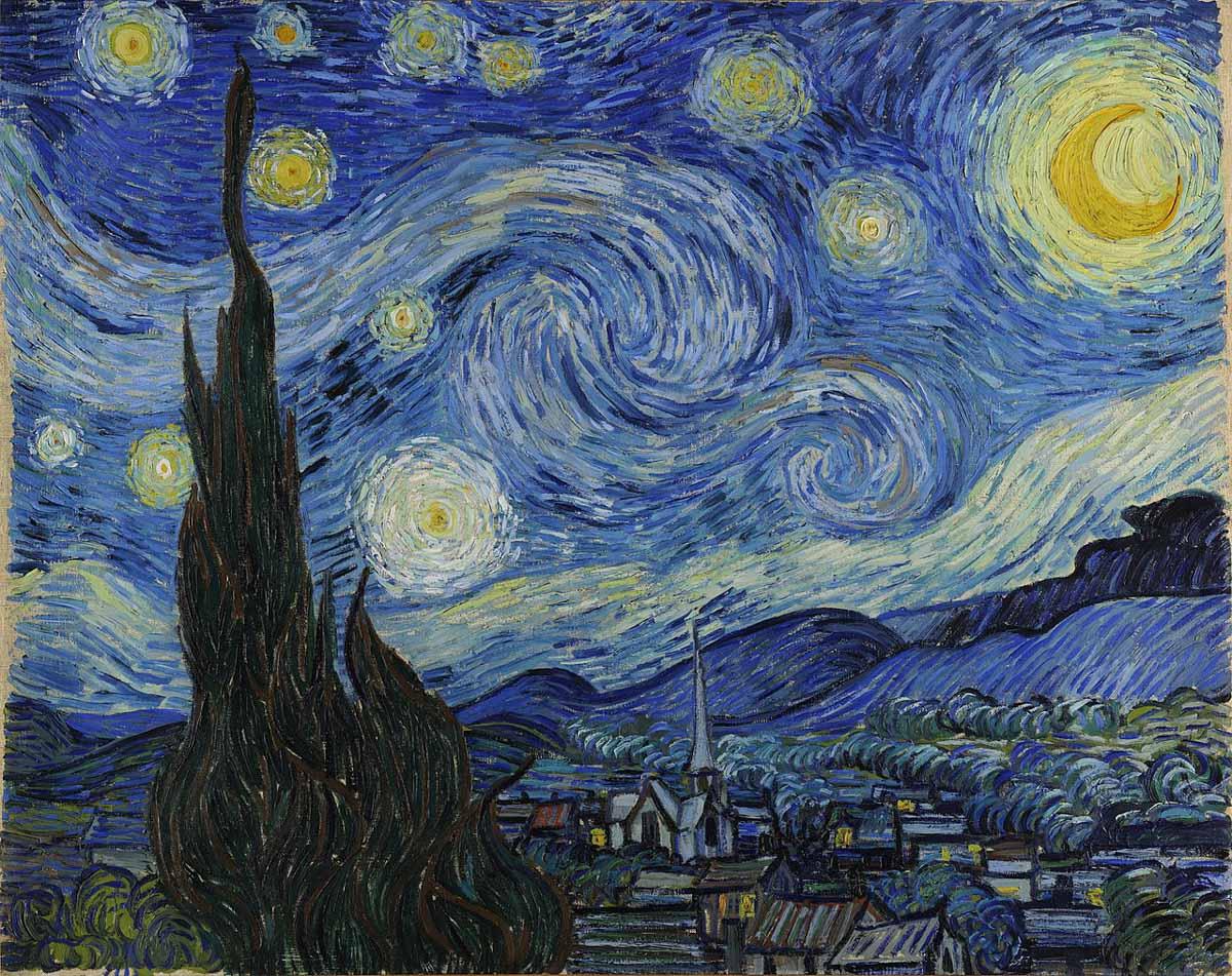 Obra de arte de Van Gogh