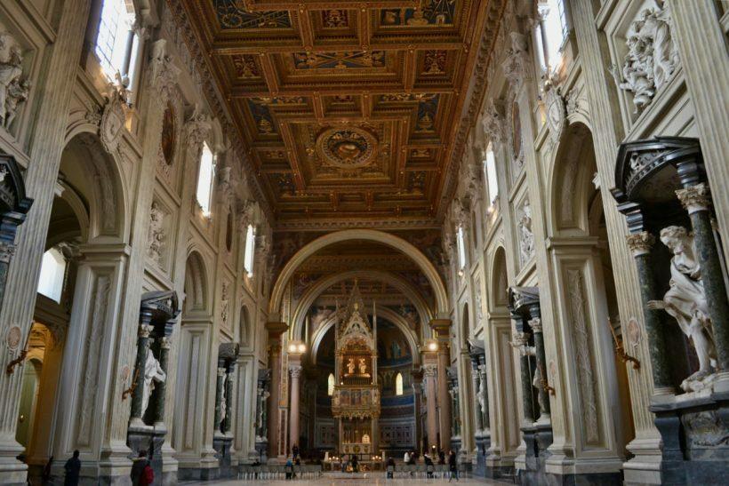 basilica papal sao joao latrao roma