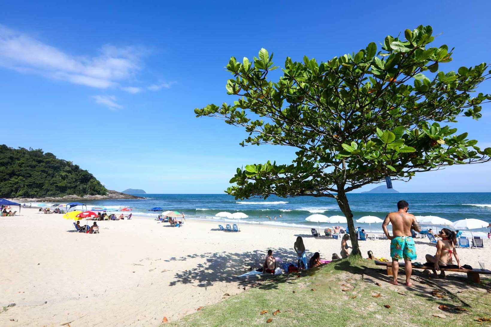 Praias liberadas em São Paulo