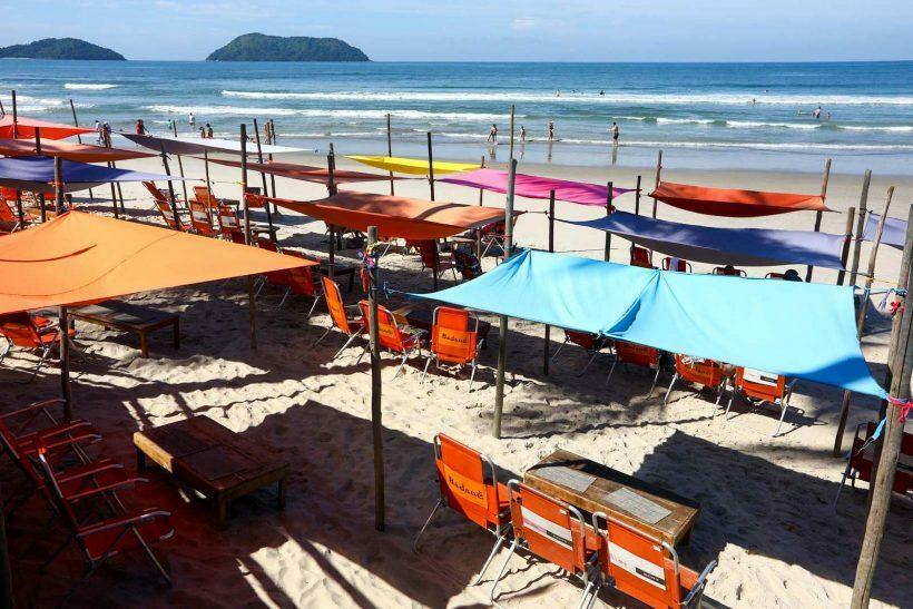Praias liberadas SP