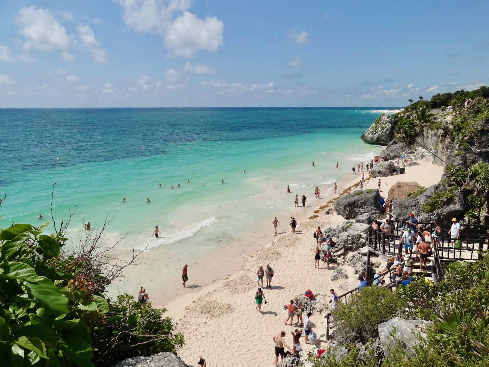 praias do caribe tulum