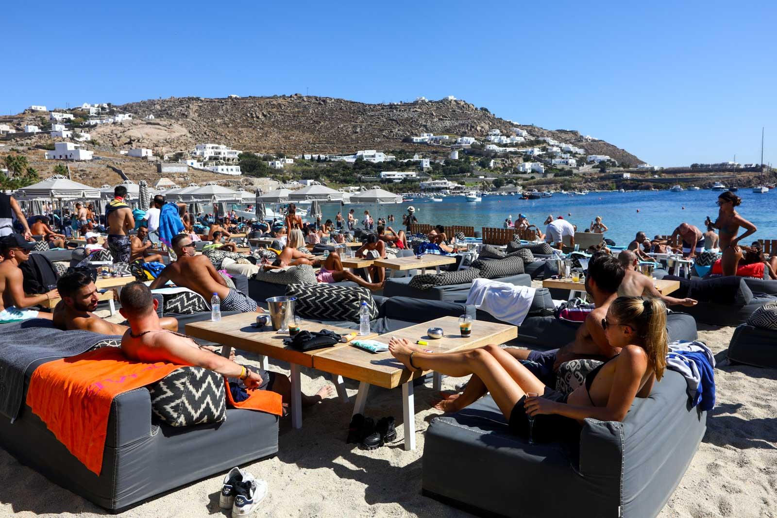 Praias Mykonos