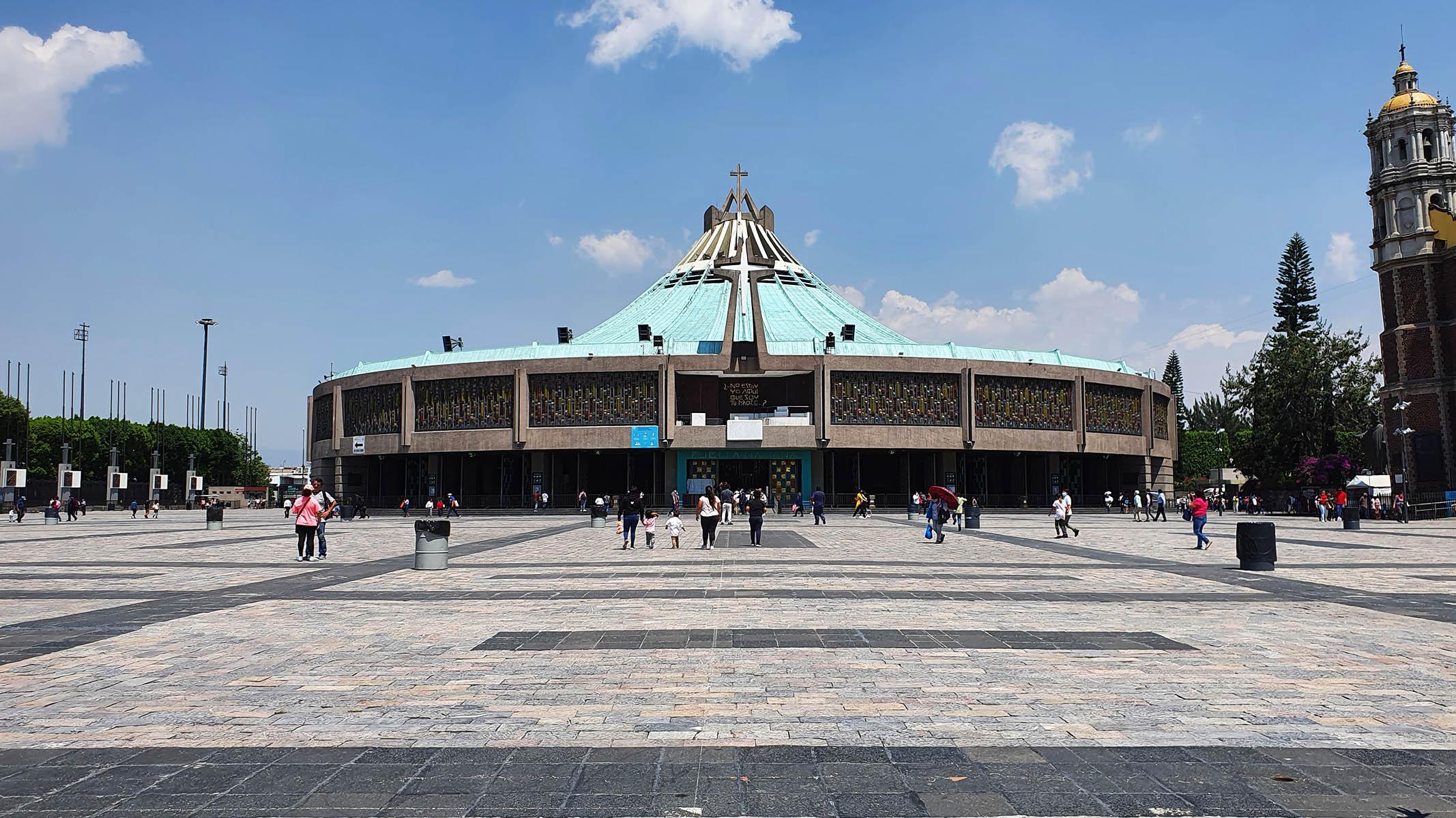 Basílica de Nossa Senhora de Guadalupe na Cidade do México