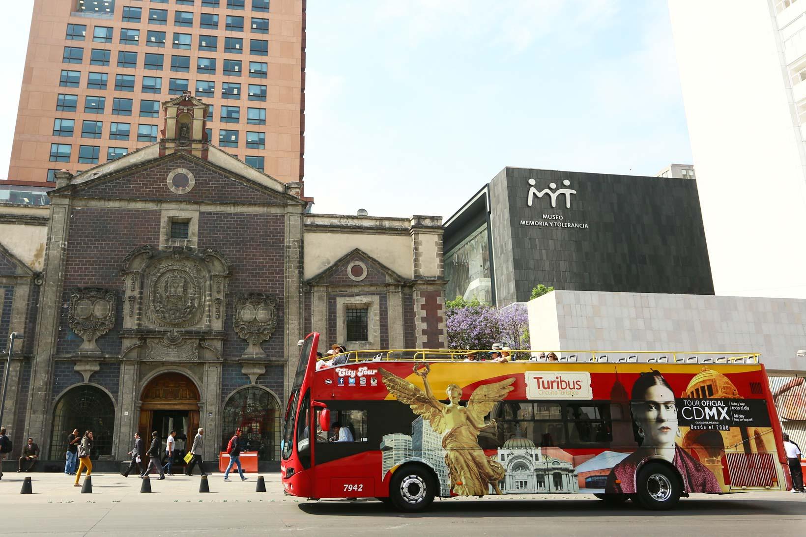 hop-on hop-off Cidade do Mexico