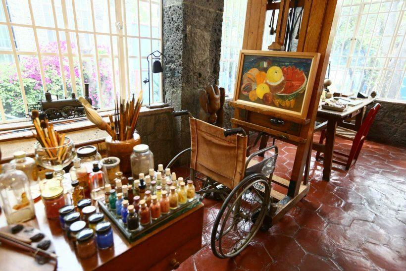 Museu Frida Kahlo visita