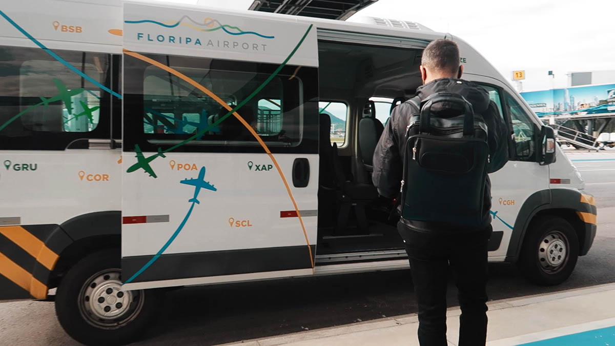 embarque remoto Floripa Airport