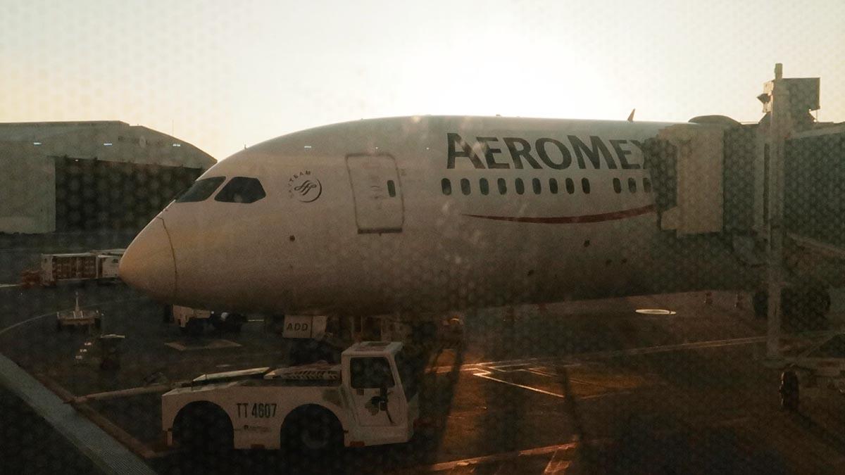 embarque boeing 787-9 aeromexico