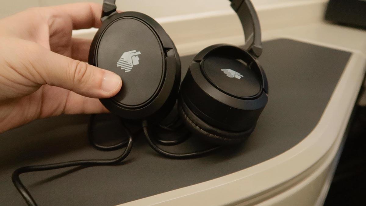 Fone de ouvido executiva Aeromexico
