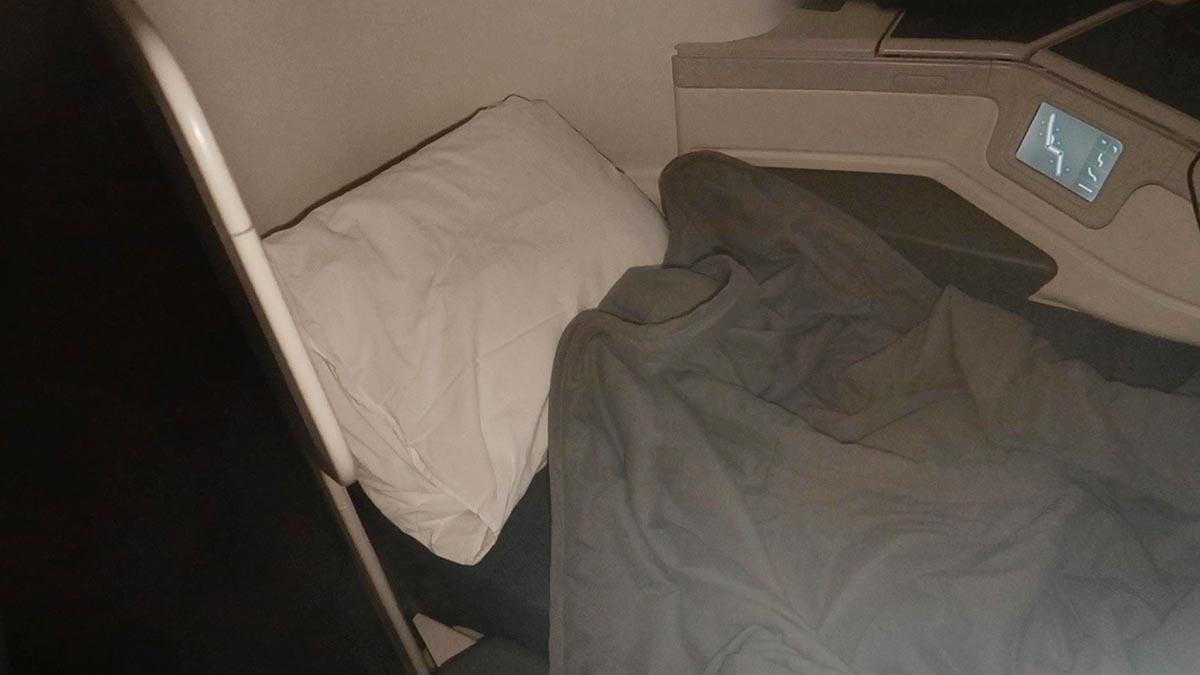 poltrona cama executiva Aeromexico