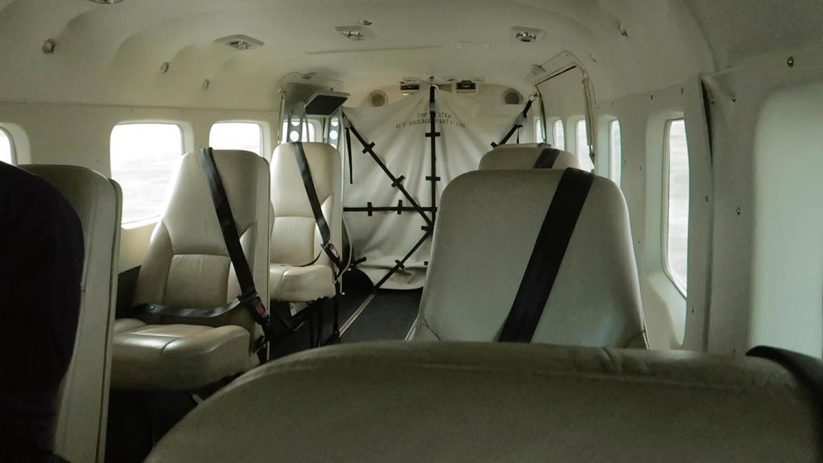 Interior Cessna Grand Caravan