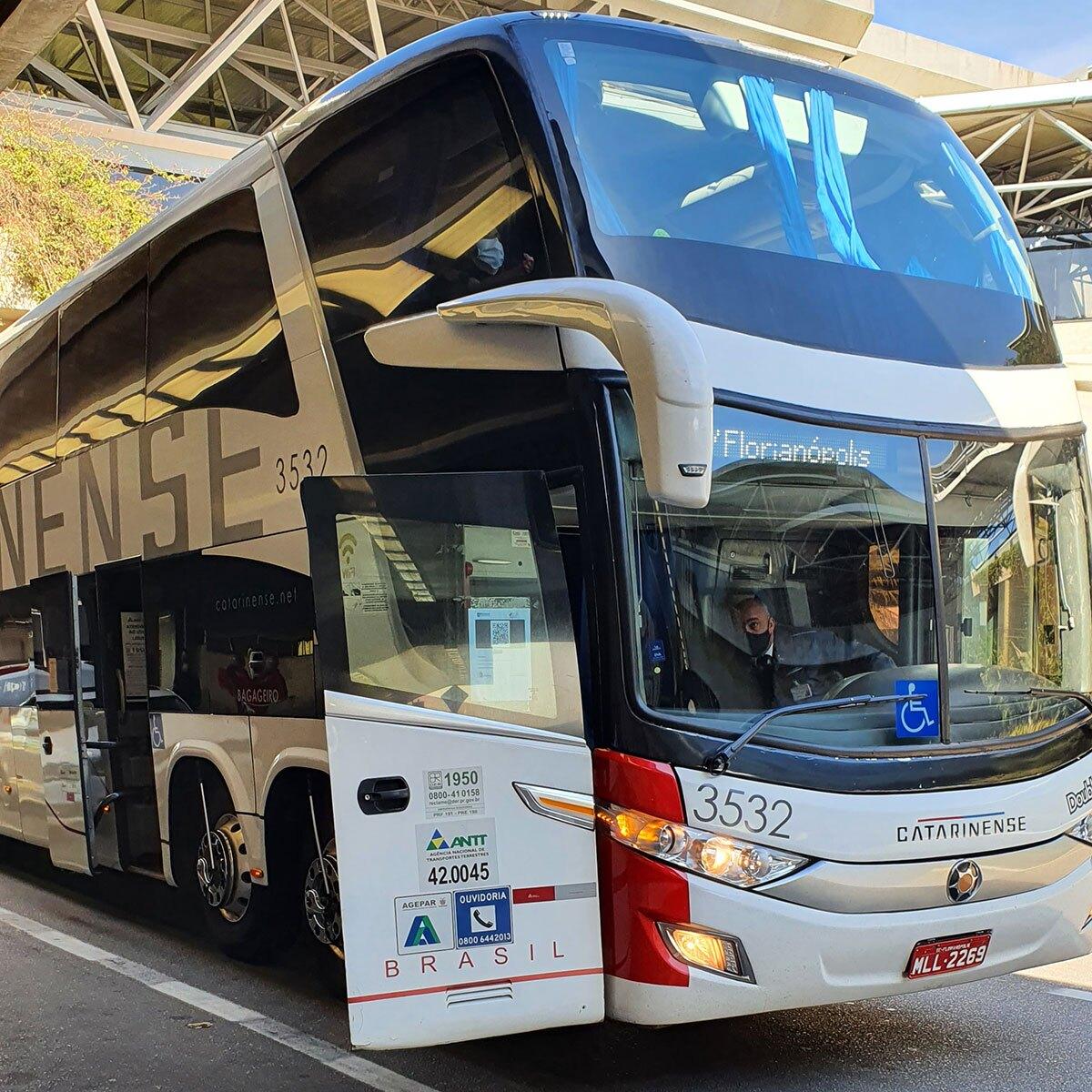 ônibus viação catarinense