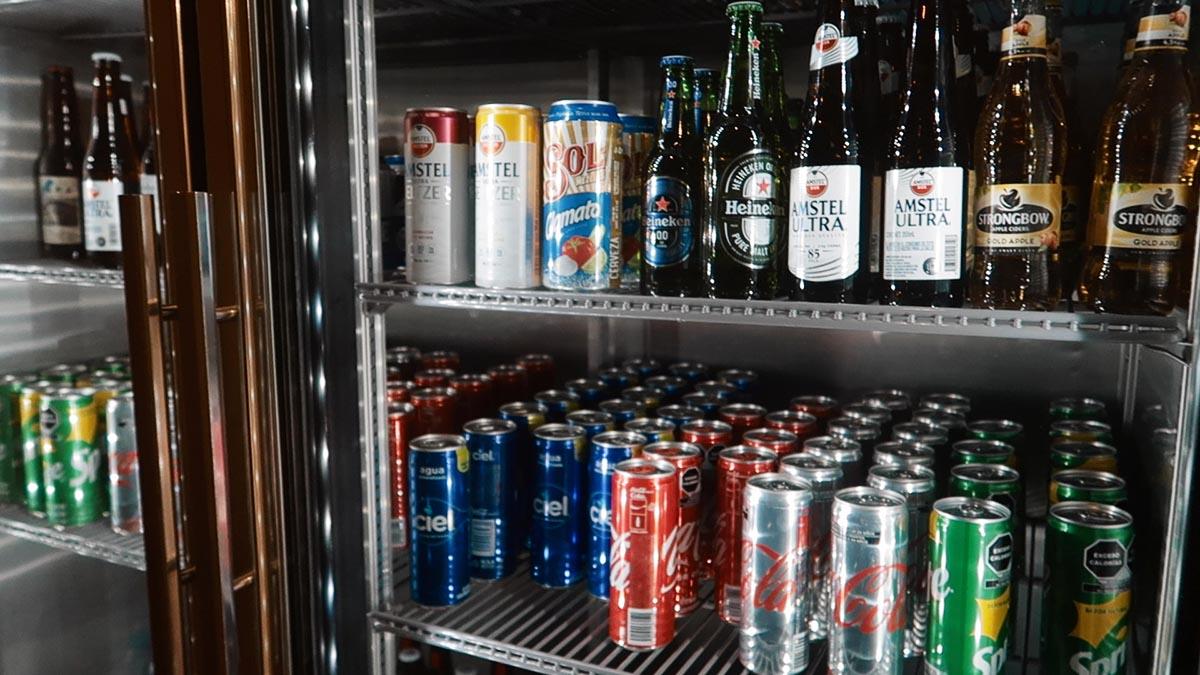 bebidas sala vip aeromexico